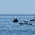 Crew Dragon успешно приводнился в Мексиканском заливе
